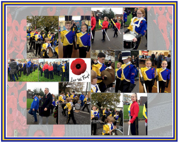 2015 Remembrance Day Parade - Collage