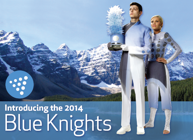 Blue Knights New Uniform
