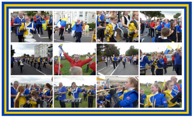 Clacton Carnival Collage