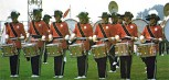 1972 Santa Clara Vanguard - Curt More, center snare from the author's collection