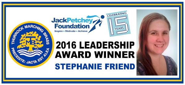 JP -  2016 Leadership Award Winner - Stephanie Friend