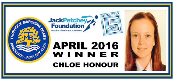 JP - April 2016 winner - Chloe Honour