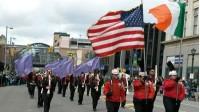 Skyliners Drum Corps - Scanton Saint Patricks Day_587x540