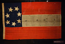"Captured CSA ""Stars and Bars"". From the author's personal collection."